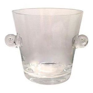 TIFFANY CO Crystal Ice Bucket Champagne Chiller